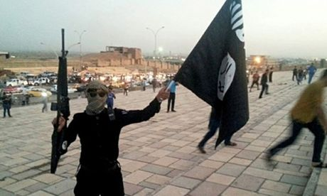 IS quay video tai Mosul, the 'danh bai My' - Anh 1