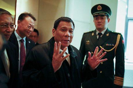 Ong Duterte se khong ban ve tham do dau khi chung khi tham Trung Quoc - Anh 1