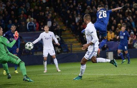 Leicester toan thang tai Champions League: Tha mot phut huy hoang roi chot tat - Anh 1
