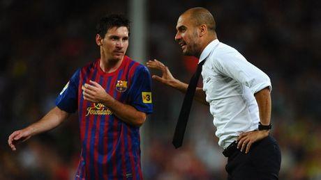 Guardiola thua nhan chang biet lam the nao de chan Messi - Anh 1