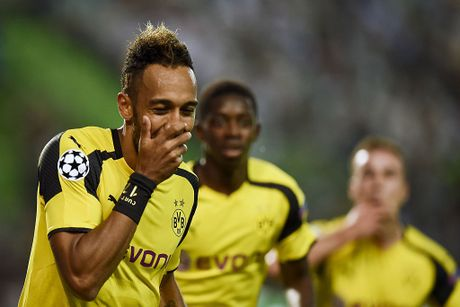 Dortmund tiep tuc dung tren Real nho Aubameyang - Anh 3