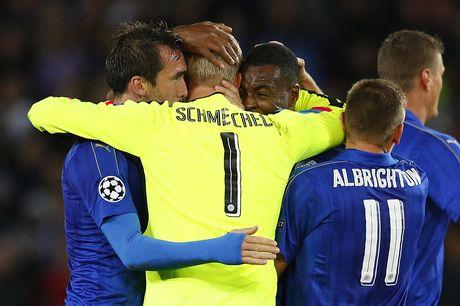 Thang tran thu 3, Leicester viet tiep co tich o chau Au - Anh 1