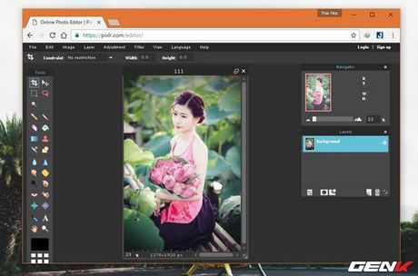 Muon chinh anh ma lai khong co Photoshop? Hay tham khao nhung dich vu online mien phi nay - Anh 3