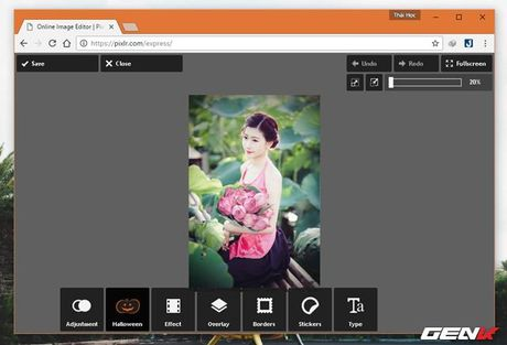 Muon chinh anh ma lai khong co Photoshop? Hay tham khao nhung dich vu online mien phi nay - Anh 4