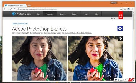 Muon chinh anh ma lai khong co Photoshop? Hay tham khao nhung dich vu online mien phi nay - Anh 5