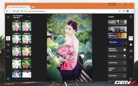 Muon chinh anh ma lai khong co Photoshop? Hay tham khao nhung dich vu online mien phi nay - Anh 9