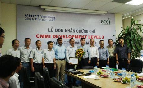 Cong ty phan mem VNPT nhan chung chi CMMi - Anh 1
