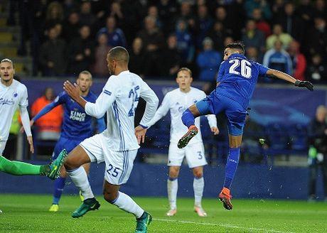 Ha Copenhagen, Leicester toan thang ca 3 tran Champions League, chua thua ban nao - Anh 2