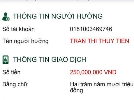 Vo chong Cong Vinh ung ho dong bao mien Trung 250 trieu dong - Anh 1
