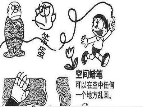 But chi khong khi cua Doraemon va but ve 3Doodler - Anh 1
