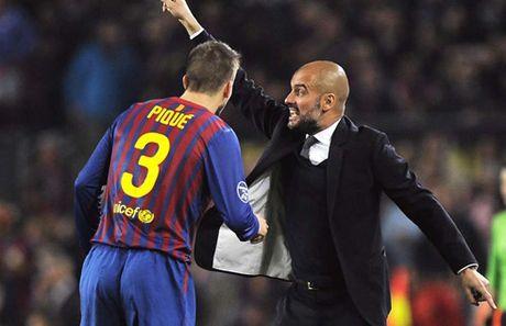 Pique: 'Duoi tay Pep, Man City dang dan bien thanh Barca' - Anh 1