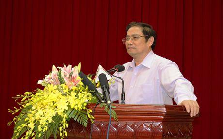 Truong Ban To chuc Trung uong Pham Minh Chinh lam viec tai Yen Bai - Anh 1