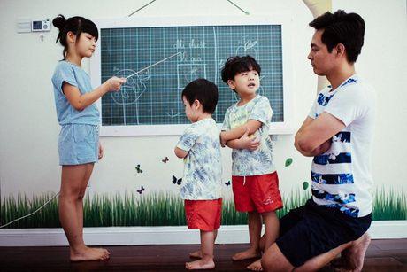 Vo dep, con xinh va cuoc song gia dinh hanh phuc cua MC Phan Anh - Anh 13