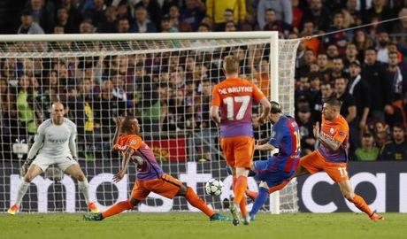 Messi lap hat-trick giup Barca de bep Man City 4-0 - Anh 6