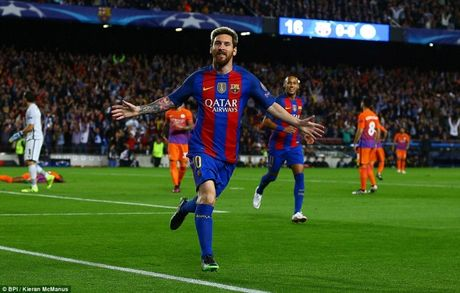 Champions League: Messi nhan chim ngay ve cua Pep Guardiola - Anh 1