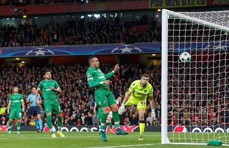 Arsenal 6–0 Ludogorets: Oezil lap hat-trick, 'Phao thu' dai thang kieu tennis - Anh 2
