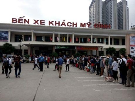 Sở GTVT Hà Nội vẫn giữ xe tuyến cố định tại bến Mỹ Đình