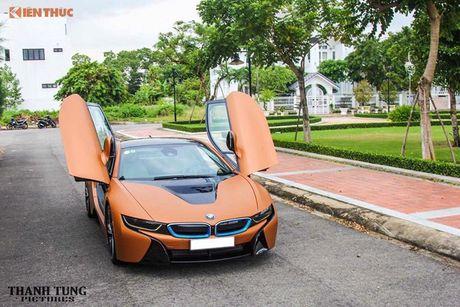 Siêu xe BMW i8 'màu độc' giá hơn 4 tỷ tại Đà Nẵng