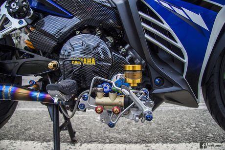Yamaha Exciter 135 'full kieng' cua biker Quang Ngai - Anh 10