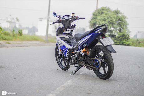 Yamaha Exciter 135 'full kieng' cua biker Quang Ngai - Anh 13