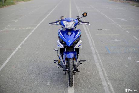 Yamaha Exciter 135 'full kieng' cua biker Quang Ngai - Anh 2