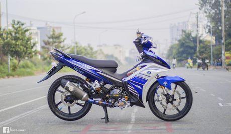Yamaha Exciter 135 'full kieng' cua biker Quang Ngai - Anh 8