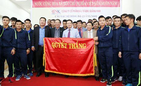 CLB bóng đá Quảng Nam quyết tranh huy chương