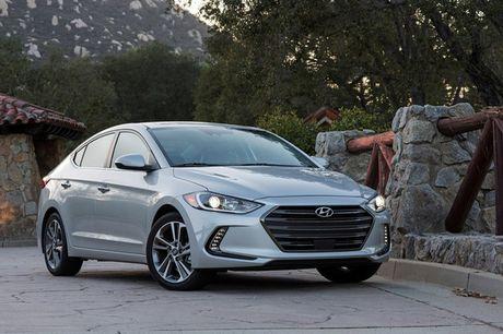 Hyundai Elantra 2018 ra mat voi trang bi tot hon - Anh 1