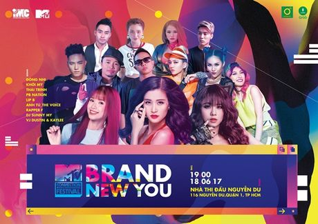 MTV Connection thang 6: Don mua he nang dong cung 'Brand new you' - Anh 1