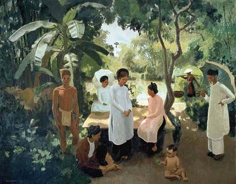 Ngam loat tranh tuyet dep ve Viet Nam 1 the ky truoc - Anh 4