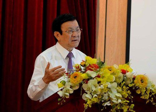 Chủ tịch nước Trương Tấn Sang: Văn hóa nghệ thuật phải khơi dậy, bồi đắp lòng yêu nước, nhân cách, lối sống…