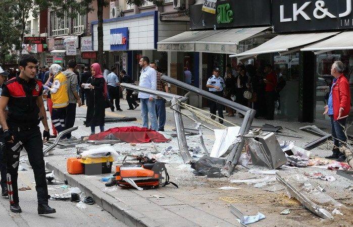 Đánh bom liều chết ở Thổ Nhĩ Kỳ, ít nhất 20 người thiệt mạng